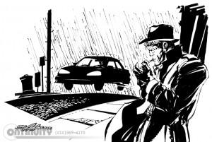 Guy-Smoking-in-Rain