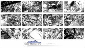 02-sb-Batman-Entertainment-StoryBorad-BW